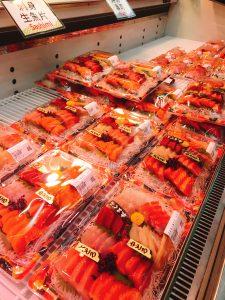 刺身寿司コーナー190225
