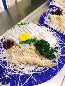 太刀魚の造り190225