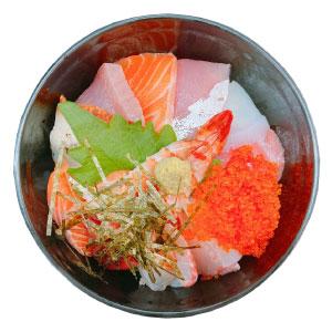 黒門三平海鮮丼